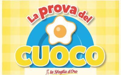 La Sfoglia d'Oro Partner Ufficiale de La Prova del Cuoco in Tour
